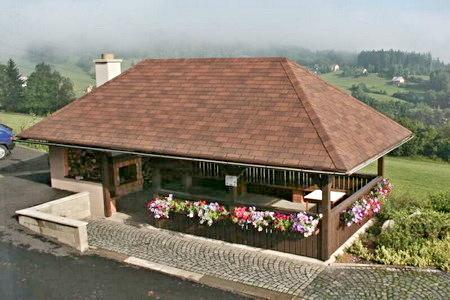 Agroturistika - venkovská turistika - Farma u Semil - venkovní posezení